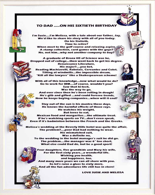 Faq it could be verse poems and puzzles for your perfect party framed special occasion poems aloadofball Images